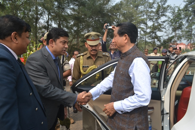 Visit of Governor at Paradip