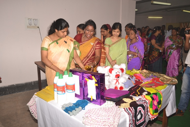 Collector, Jagatsinghpur inaugurating Tailoring Programme under CSR